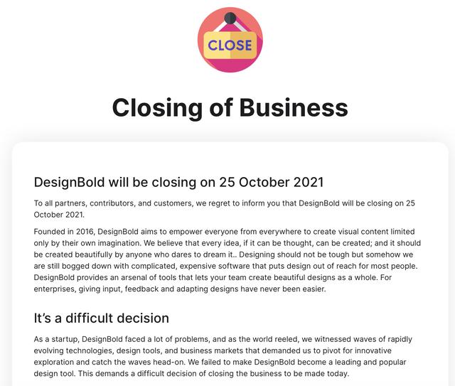 Kỳ vọng sản phẩm được cả thế giới biết đến, startup được giải Khởi nghiệp của năm của nhà sáng lập Hùng Đinh tuyên bố đóng cửa vào ngày 25/10 - Ảnh 1.
