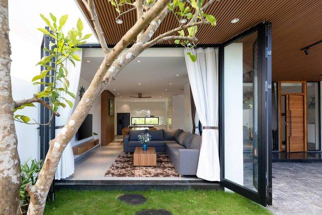 Căn nhà thứ hai 4,5 tỉ đồng tuyệt đẹp ở Đà Nẵng của đại gia Hà Nội chỉ dành riêng cho các kỳ nghỉ - Ảnh 5.