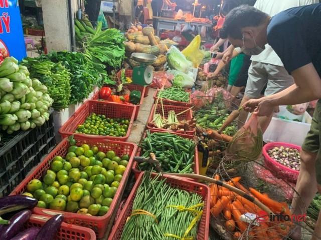 Hà Nội: Rau xanh tăng giá 'chóng mặt', đi chợ hoa mắt vì giá - Ảnh 1.