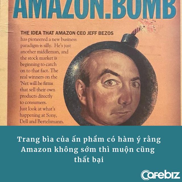 Jeff Bezos 'đào mộ' bài báo 'trù ẻo' Amazon thất bại: Làm ngơ trước lời chỉ trích, để thành công lên tiếng - Ảnh 1.