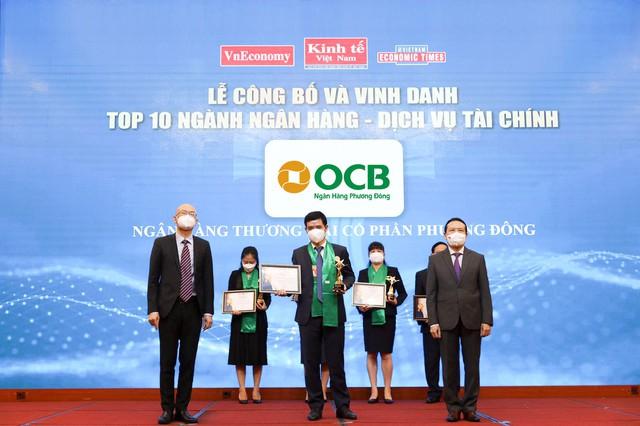 OCB vào top 10 thương hiệu mạnh Việt Nam ngành ngân hàng - Ảnh 1.