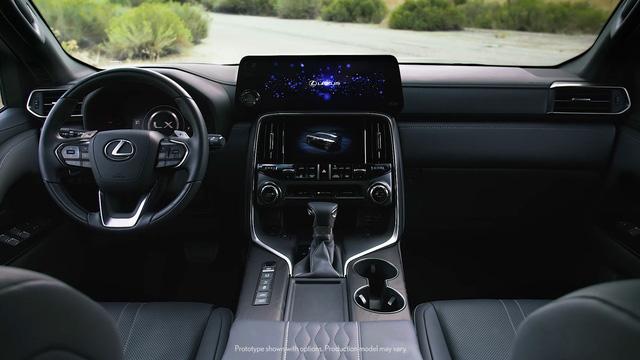Ra mắt Lexus LX 600 thế hệ mới: Lột xác từ ngoài vào trong, phiên bản siêu sang cạnh tranh Mercedes-Maybach GLS 600 - Ảnh 7.