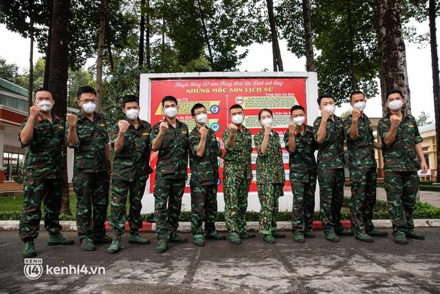Học viên trường quân y rút quân sau 50 ngày chi viện chống dịch: Người Sài Gòn rất dễ thương, mong có dịp quay lại để thấy một thành phố khỏe mạnh - Ảnh 1.