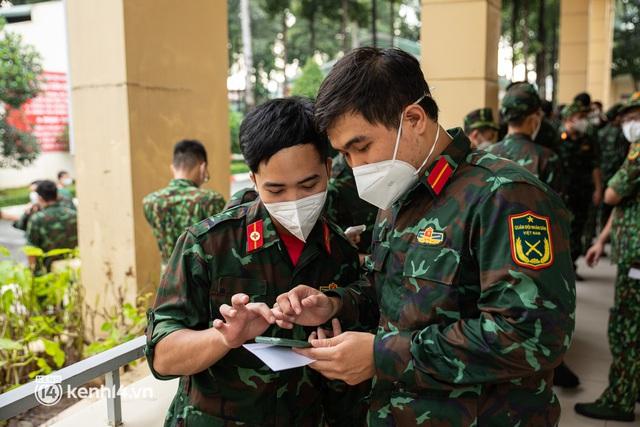 Học viên trường quân y rút quân sau 50 ngày chi viện chống dịch: Người Sài Gòn rất dễ thương, mong có dịp quay lại để thấy một thành phố khỏe mạnh - Ảnh 14.