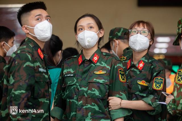 Học viên trường quân y rút quân sau 50 ngày chi viện chống dịch: Người Sài Gòn rất dễ thương, mong có dịp quay lại để thấy một thành phố khỏe mạnh - Ảnh 3.