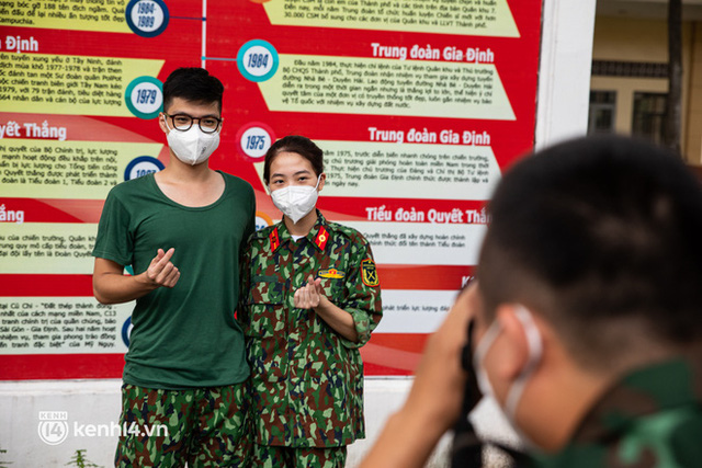 Học viên trường quân y rút quân sau 50 ngày chi viện chống dịch: Người Sài Gòn rất dễ thương, mong có dịp quay lại để thấy một thành phố khỏe mạnh - Ảnh 7.