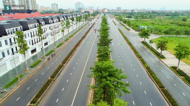 Tuyến đường Tây Thăng Long rộng thênh thang, đẹp hút hồn chạy xuyên qua khu đô thị đắt đỏ nhất Thủ đô - Ảnh 2.