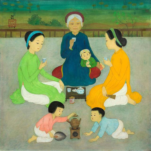 3 bức tranh Việt được bán với giá hơn 35 tỷ đồng ở Pháp - Ảnh 1.