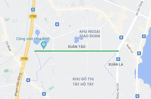 Tuyến đường Tây Thăng Long rộng thênh thang, đẹp hút hồn chạy xuyên qua khu đô thị đắt đỏ nhất Thủ đô - Ảnh 15.