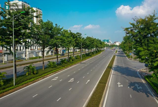 Tuyến đường Tây Thăng Long rộng thênh thang, đẹp hút hồn chạy xuyên qua khu đô thị đắt đỏ nhất Thủ đô - Ảnh 3.