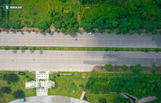 Tuyến đường Tây Thăng Long rộng thênh thang, đẹp hút hồn chạy xuyên qua khu đô thị đắt đỏ nhất Thủ đô - Ảnh 5.