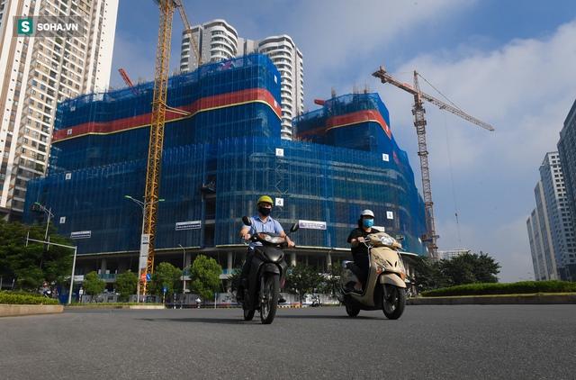Tuyến đường Tây Thăng Long rộng thênh thang, đẹp hút hồn chạy xuyên qua khu đô thị đắt đỏ nhất Thủ đô - Ảnh 7.