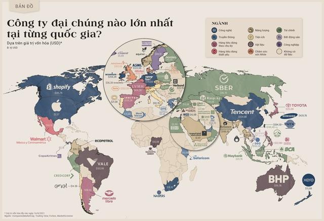 Công ty đại chúng nào lớn nhất tại từng quốc gia? - Ảnh 1.