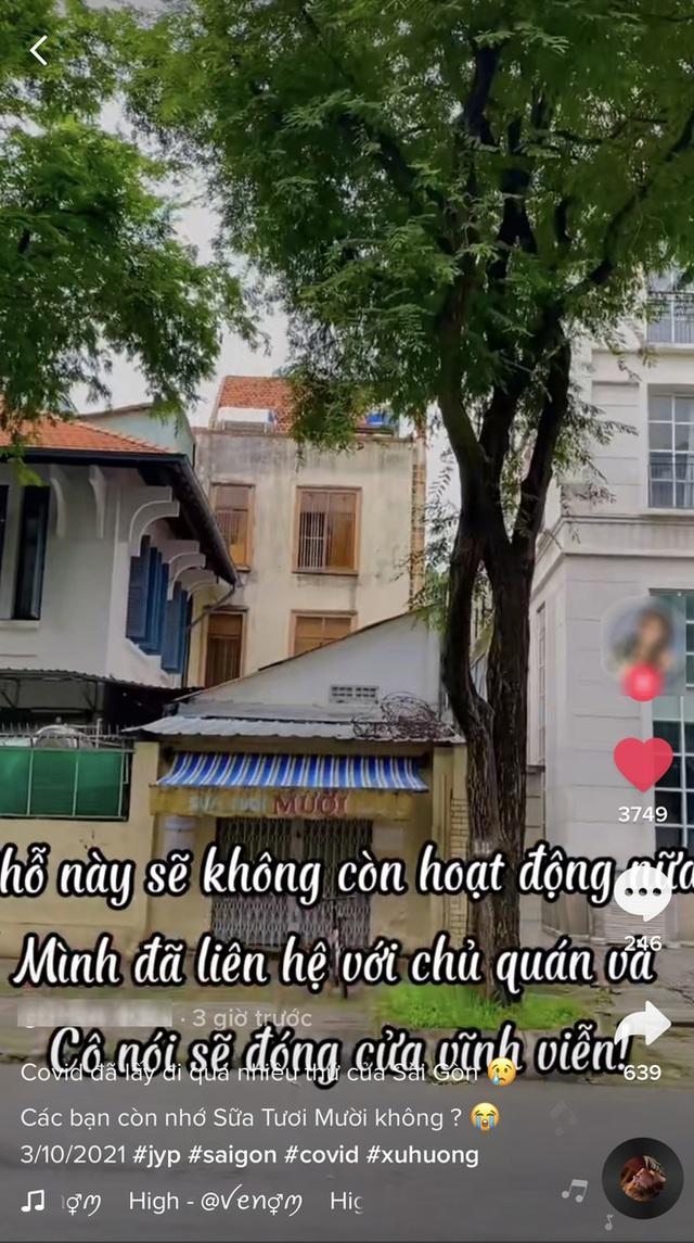 Xôn xao tin tiệm sữa tươi nổi tiếng nhất Sài Gòn đóng cửa vĩnh viễn, dân mạng thở dài: Covid lấy đi quá nhiều thứ thân thuộc! - Ảnh 4.