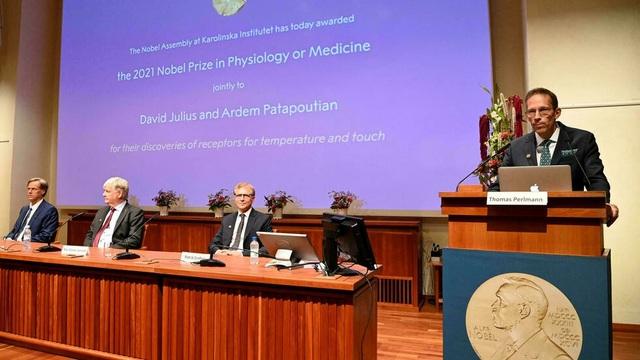 Giải Nobel Y học năm 2021 vinh danh hai nhà khoa học người Mỹ David Julius và Ardem Patapoutian  - Ảnh 2.