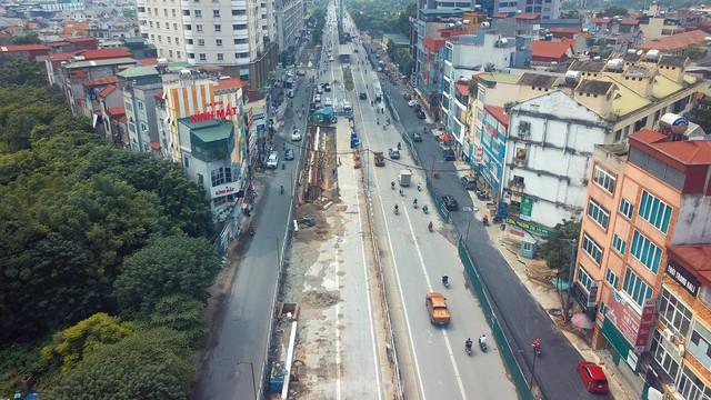 Dự án trọng điểm hầm chui Lê Văn Lương đang thi công hiện ra sao sau thời gian giãn cách? - Ảnh 9.