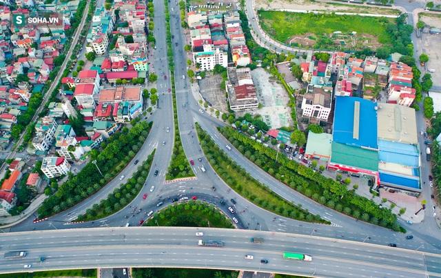 Cận cảnh 2 nút giao thông khổng lồ đẹp như tranh vẽ, đắt tiền và hiện đại bậc nhất Thủ đô - Ảnh 2.