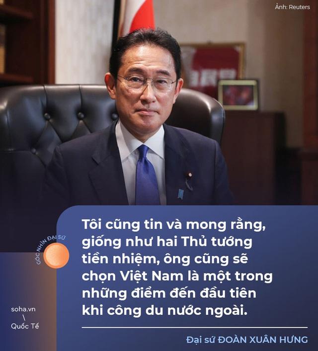 Cuộc họp muộn và ý tưởng chiến lược về Đại học Harvard ở Việt Nam của tân Thủ tướng Nhật Bản - Ảnh 4.