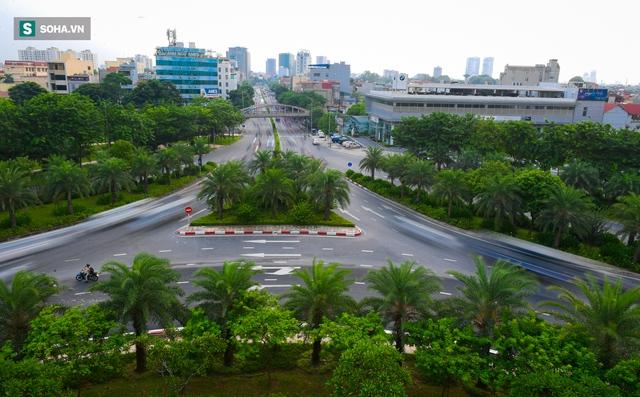 Cận cảnh 2 nút giao thông khổng lồ đẹp như tranh vẽ, đắt tiền và hiện đại bậc nhất Thủ đô - Ảnh 5.
