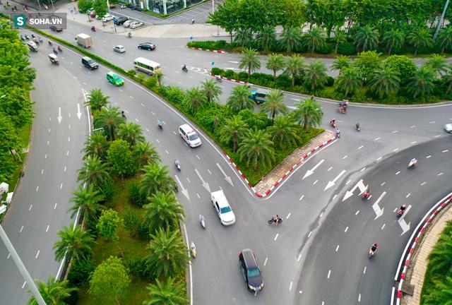 Cận cảnh 2 nút giao thông khổng lồ đẹp như tranh vẽ, đắt tiền và hiện đại bậc nhất Thủ đô - Ảnh 6.