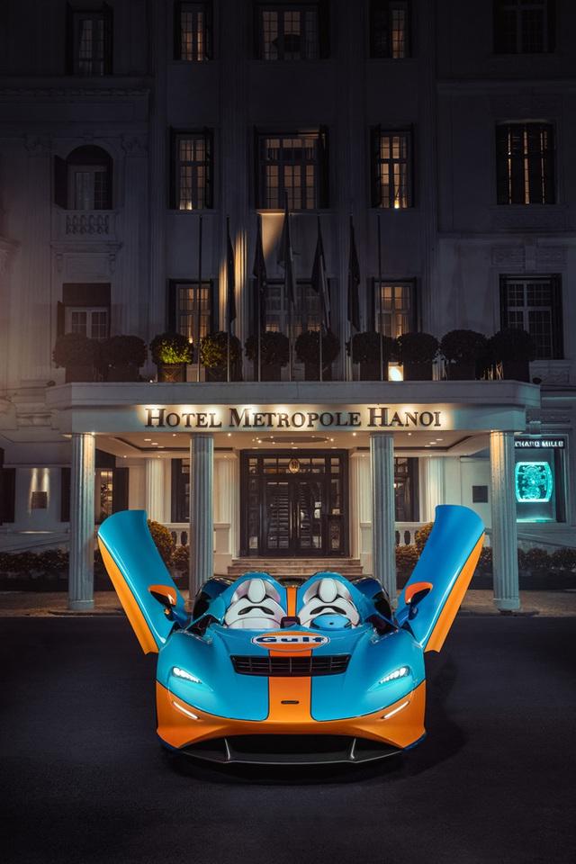 Siêu phẩm không kính McLaren Elva bất ngờ lộ ảnh thả dáng tại Hà Nội, kết thúc hành trình vòng quanh thế giới - Ảnh 8.