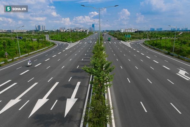 Cận cảnh 2 nút giao thông khổng lồ đẹp như tranh vẽ, đắt tiền và hiện đại bậc nhất Thủ đô - Ảnh 9.
