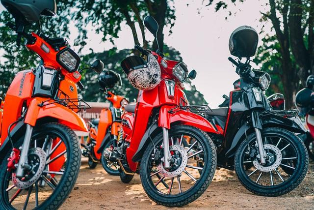 Bản sao Honda Dream giá 27 triệu đồng vừa cập bến Việt Nam, chờ bung lụa - Ảnh 3.
