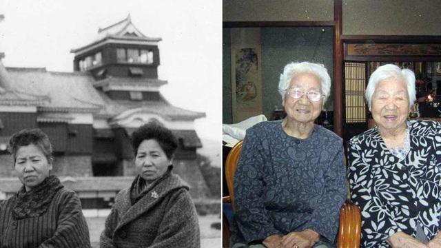 Hai cụ bà 107 tuổi người Nhật lập kỷ lục trở thành cặp song sinh sống thọ nhất thế giới: Ai cũng ngưỡng mộ bởi tính cách hòa đồng và tích cực - Ảnh 2.