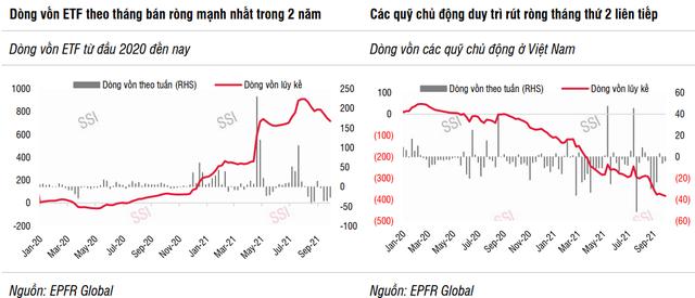SSI Research: Dòng tiền từ các quỹ và khối ngoại trên thị trường chứng khoán sẽ chưa thể quay trở lại trong ngắn hạn cho đến năm 2022 - Ảnh 1.