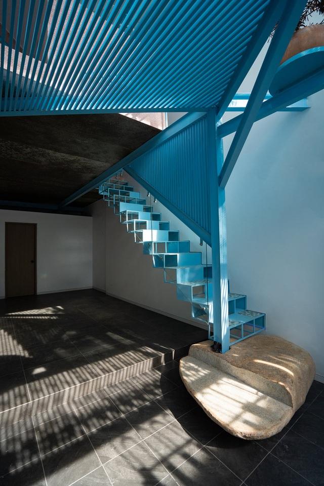 Mẹ Vĩnh Long xây nhà 140m2 cho con gái nghỉ trưa, tạo hình nhà trên cây độc đáo với sắc xanh hút hồn - Ảnh 1.