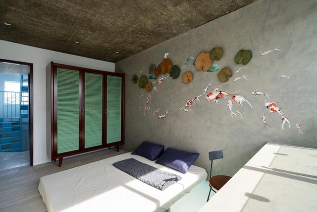 Mẹ Vĩnh Long xây nhà 140m2 cho con gái nghỉ trưa, tạo hình nhà trên cây độc đáo với sắc xanh hút hồn - Ảnh 12.