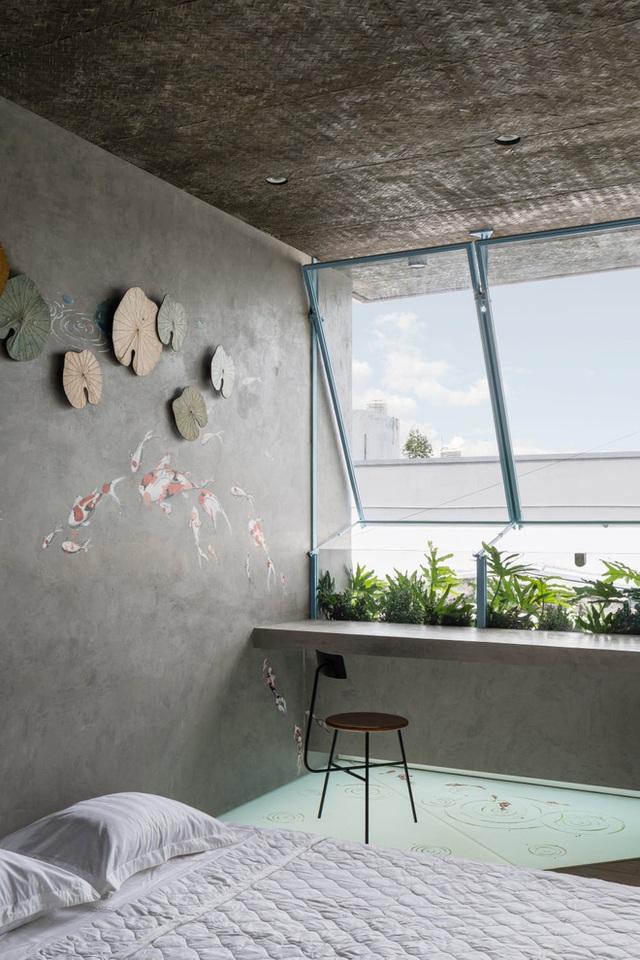 Mẹ Vĩnh Long xây nhà 140m2 cho con gái nghỉ trưa, tạo hình nhà trên cây độc đáo với sắc xanh hút hồn - Ảnh 13.