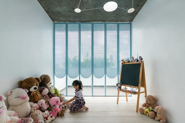 Mẹ Vĩnh Long xây nhà 140m2 cho con gái nghỉ trưa, tạo hình nhà trên cây độc đáo với sắc xanh hút hồn - Ảnh 9.