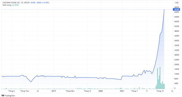Một cổ phiếu mía đường tăng giá đột biến 400% chỉ sau hơn 1 tháng giao dịch - Ảnh 2.