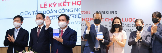 Samsung bắt tay với Viettel hướng tới kiến tạo nền kinh tế số quốc gia - Ảnh 1.