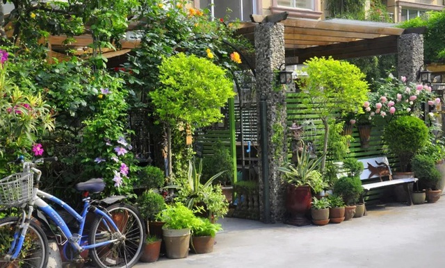 Sau nhiều năm làm việc chăm chỉ, người phụ nữ 50 tuổi mua căn nhà vườn xinh xắn sống cuộc đời an yên - Ảnh 2.