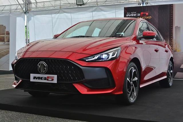 MG5 2021 được mở đặt cọc tại Việt Nam: Giá dự kiến hơn 400 triệu đồng, thiết kế như xe sang, cạnh tranh Kia K3  - Ảnh 1.