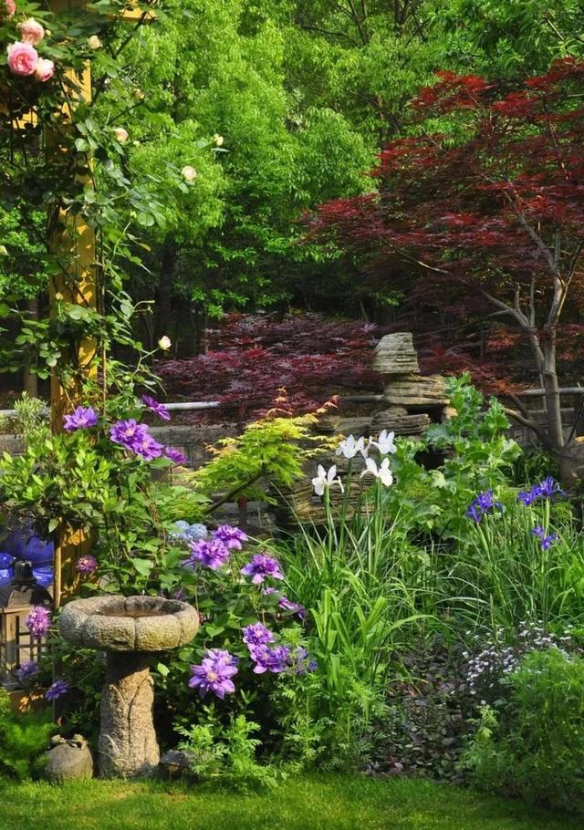 Sau nhiều năm làm việc chăm chỉ, người phụ nữ 50 tuổi mua căn nhà vườn xinh xắn sống cuộc đời an yên - Ảnh 11.