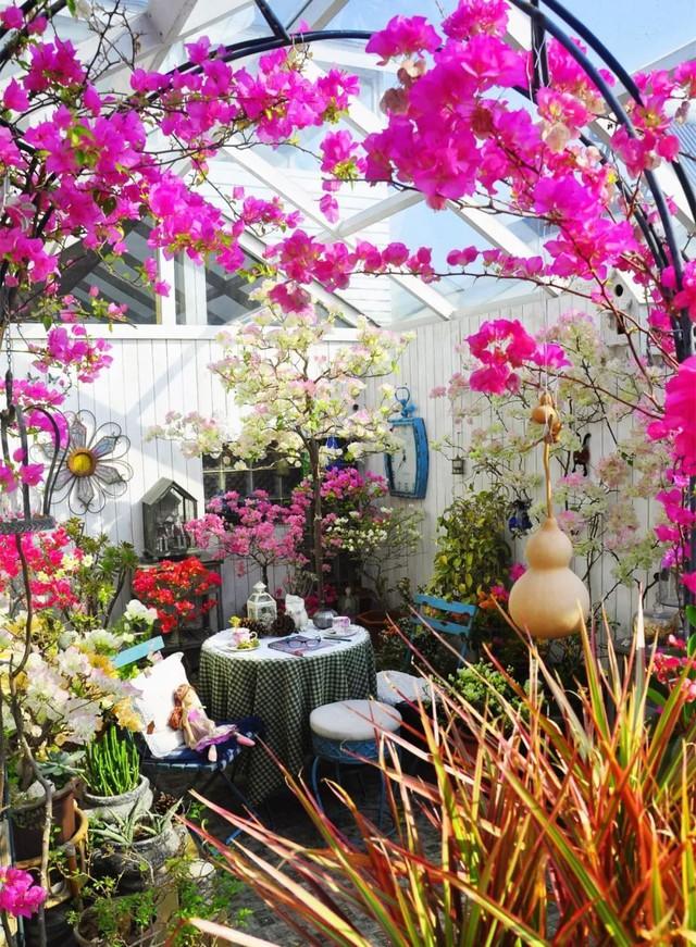 Sau nhiều năm làm việc chăm chỉ, người phụ nữ 50 tuổi mua căn nhà vườn xinh xắn sống cuộc đời an yên - Ảnh 17.