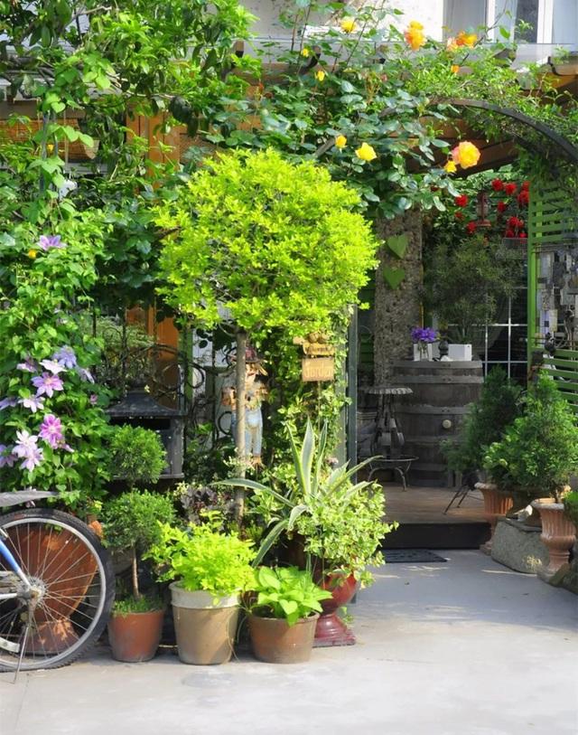 Sau nhiều năm làm việc chăm chỉ, người phụ nữ 50 tuổi mua căn nhà vườn xinh xắn sống cuộc đời an yên - Ảnh 4.