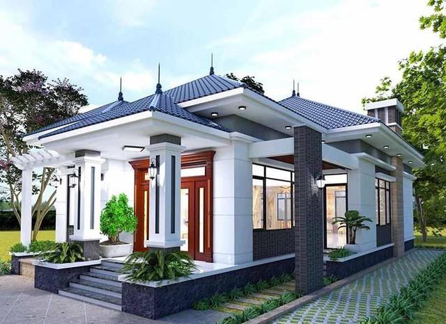 Những mẫu nhà mái Nhật đẹp nhất năm 2021 khiến ai cũng phải ngước nhìn - Ảnh 4.