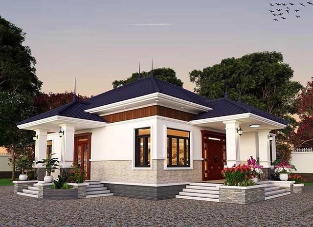 Những mẫu nhà mái Nhật đẹp nhất năm 2021 khiến ai cũng phải ngước nhìn - Ảnh 6.