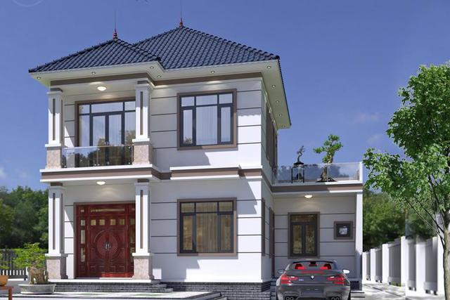 Những mẫu nhà mái Nhật đẹp nhất năm 2021 khiến ai cũng phải ngước nhìn - Ảnh 10.