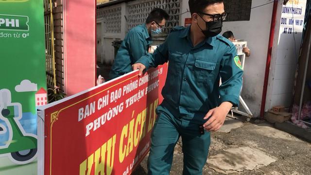 Gỡ thêm một chốt phong tỏa, Đà Nẵng chỉ còn 155 người thực hiện ai ở đâu ở đấy  - Ảnh 2.