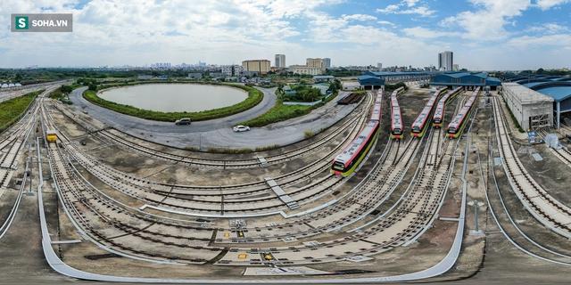 Hình ảnh mới, lạ mắt của tuyến Metro tỷ USD ở Thủ đô sắp chạy thử nghiệm đồng loạt - Ảnh 1.