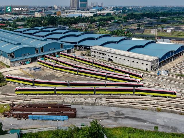 Hình ảnh mới, lạ mắt của tuyến Metro tỷ USD ở Thủ đô sắp chạy thử nghiệm đồng loạt - Ảnh 2.