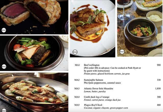 Ai rồi cũng bán đồ online: Khách sạn 5 sao nổi tiếng Park Hyatt Sài Gòn ra menu đồ ăn ship về, bất ngờ vì pizza chỉ từ 200k! - Ảnh 3.