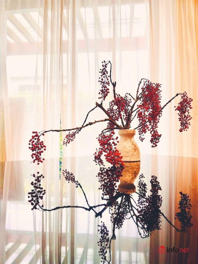 Cành quả đỏ rực, căng mọng, trĩu trịt có tên kỳ diệu, ai ai nhìn cũng mê - Ảnh 4.