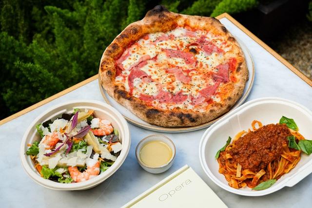 Ai rồi cũng bán đồ online: Khách sạn 5 sao nổi tiếng Park Hyatt Sài Gòn ra menu đồ ăn ship về, bất ngờ vì pizza chỉ từ 200k! - Ảnh 5.