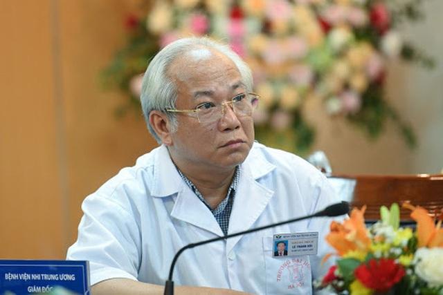 Giám đốc Bệnh viện Nhi Trung ương đột tử tại bệnh viện  - Ảnh 1.